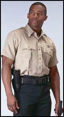 Amazon.com: Khaki Genuine Police and Security Issue Uniform Shirts: Clothing