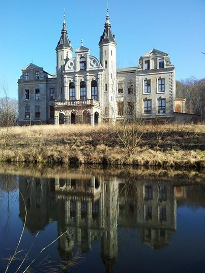 Abandoned castle Germany