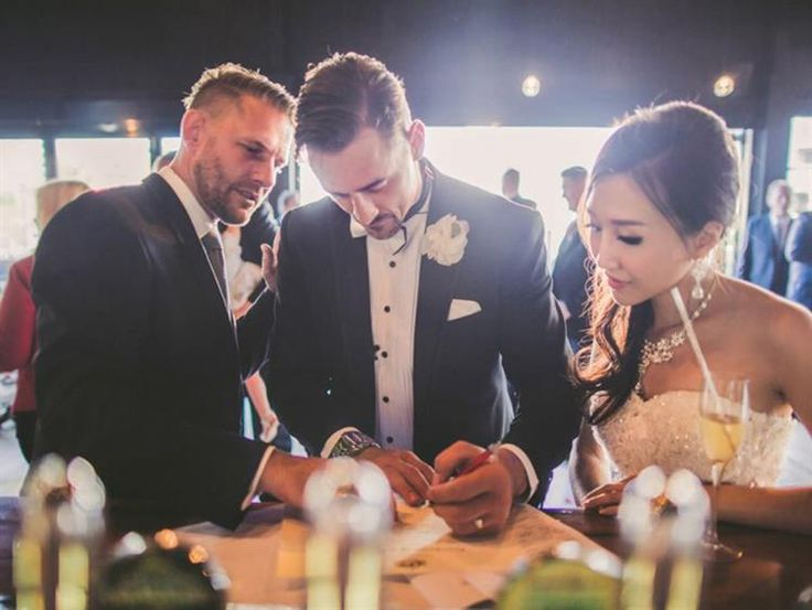 Benny Roff [MELBOURNE] @fun_weddings Drawing on his experience as a writer and performer, Benny takes the time to write very personal marriage ceremonies that are also highly entertaining.