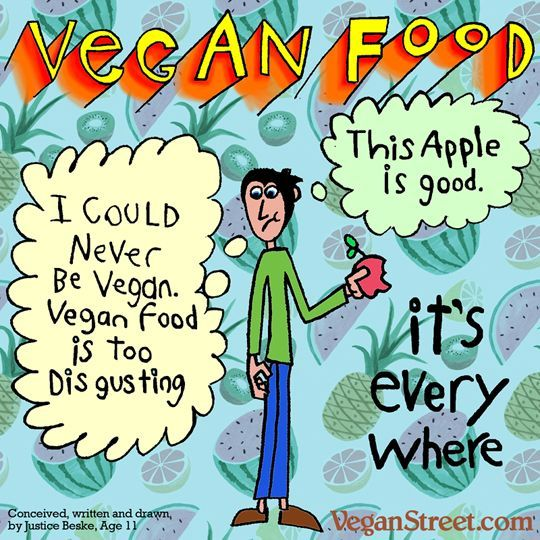 #foodmeme #foodfan #nutrition A large part of what we do at Vegan Street is address anti-vegan arguments and comments. Today, our 11-year-old son shares a meme he created based on a comment he got from a classmate at school. http://veganstreet.com/... Nutrition and recipes here: http://www.authority-nutrition.com