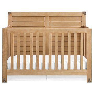 Baby Relax Ridgeline Crib - Light Rustic