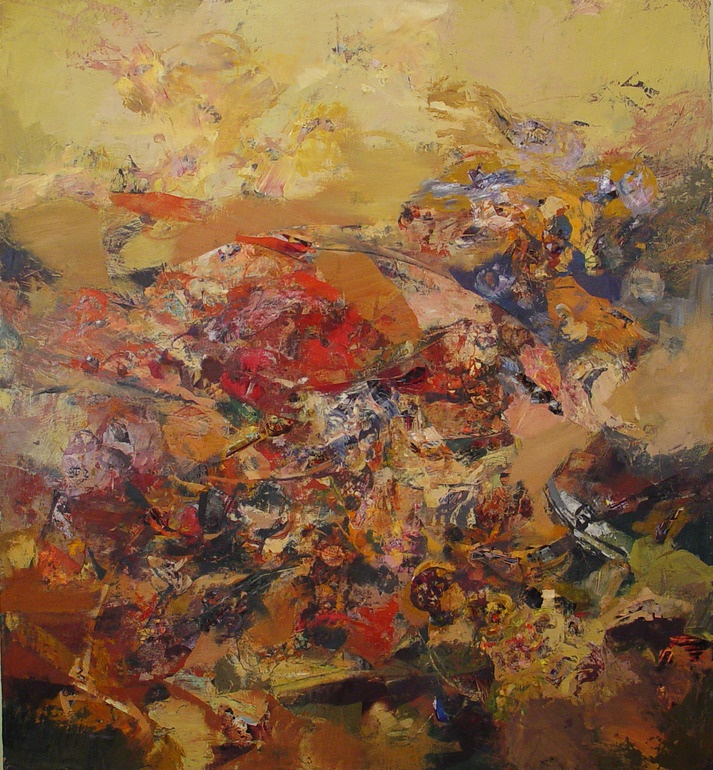 "Saatchi Online Artist: Yuriy Ibragimov; Encaustic Wax, 2011, Painting ""System"""