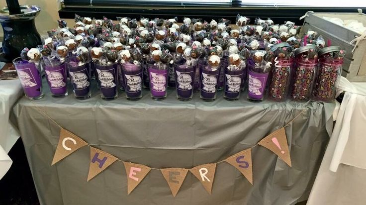 Quot A Baby Is Brewing Quot Themed Baby Shower Favor Table Favors