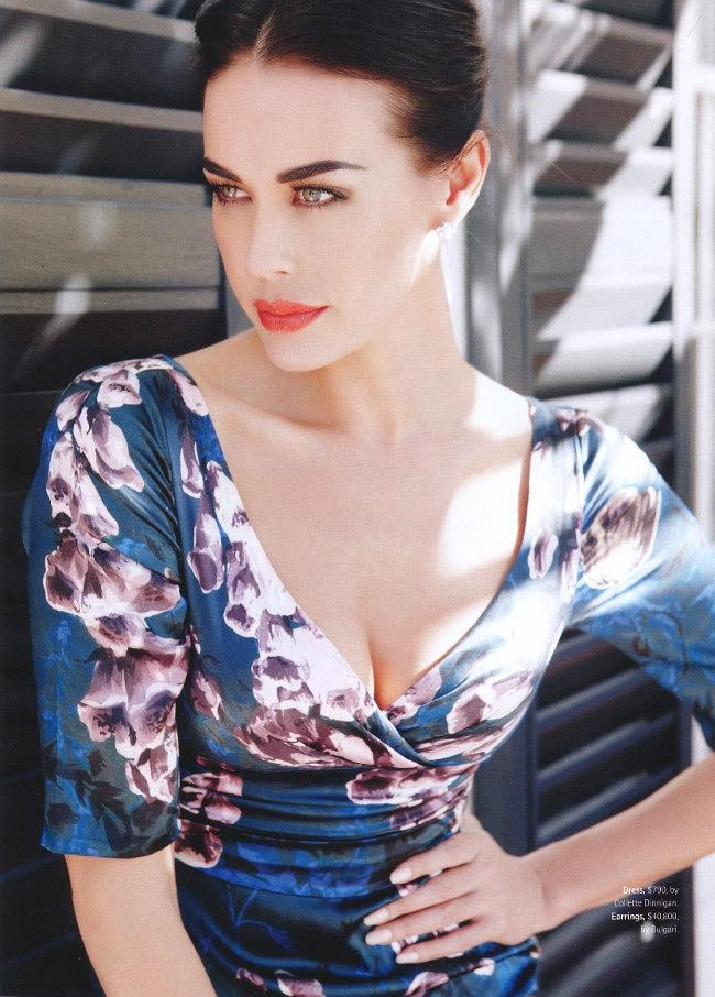 Megan Gale for Madison Australia August 2011
