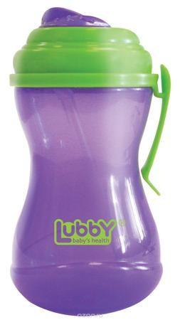 """Lubby Поильник-непроливайка Twist с трубочкой от 6 месяцев цвет фиолетовый салатовый 320 мл  — 362р.  Поильник-непроливайка Lubby """"Twist"""" с трубочкой предназначен для комфортного и безопасного перевода ребенка на кормление без использования соски. Поильник оснащен специальной сдвигаемой крышечкой Twist, которая обеспечивает защиту от микробов. Крышка поильника является съемной. Клипса позволяет прикрепить поильник к коляске малыша, на ремень сумки, либо на пояс мамы. Перед первым…"""
