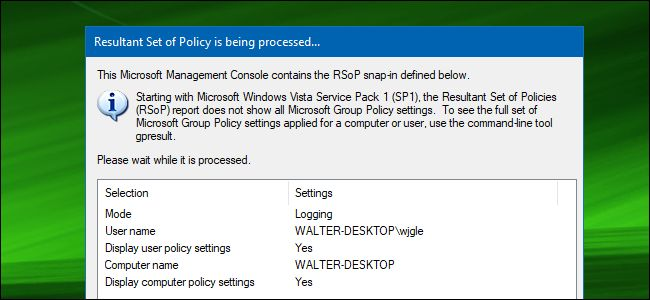 How to See Which Group Policies Are Applied to Your PC and User Account