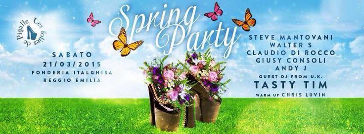 #lesfoliesdepigalle #dimitrimazzoni #SpringParty sabato 21.3.15