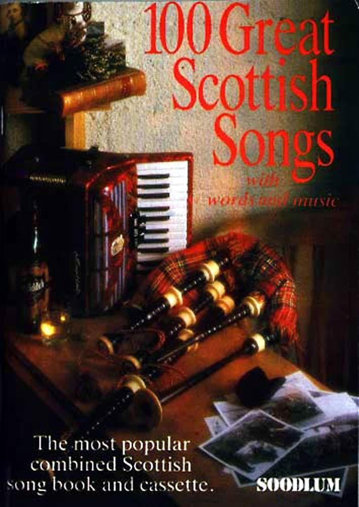 100 GREAT SCOTTISH SONGS, Book &CD. Classic Traditional Folk. Hobgoblin Music