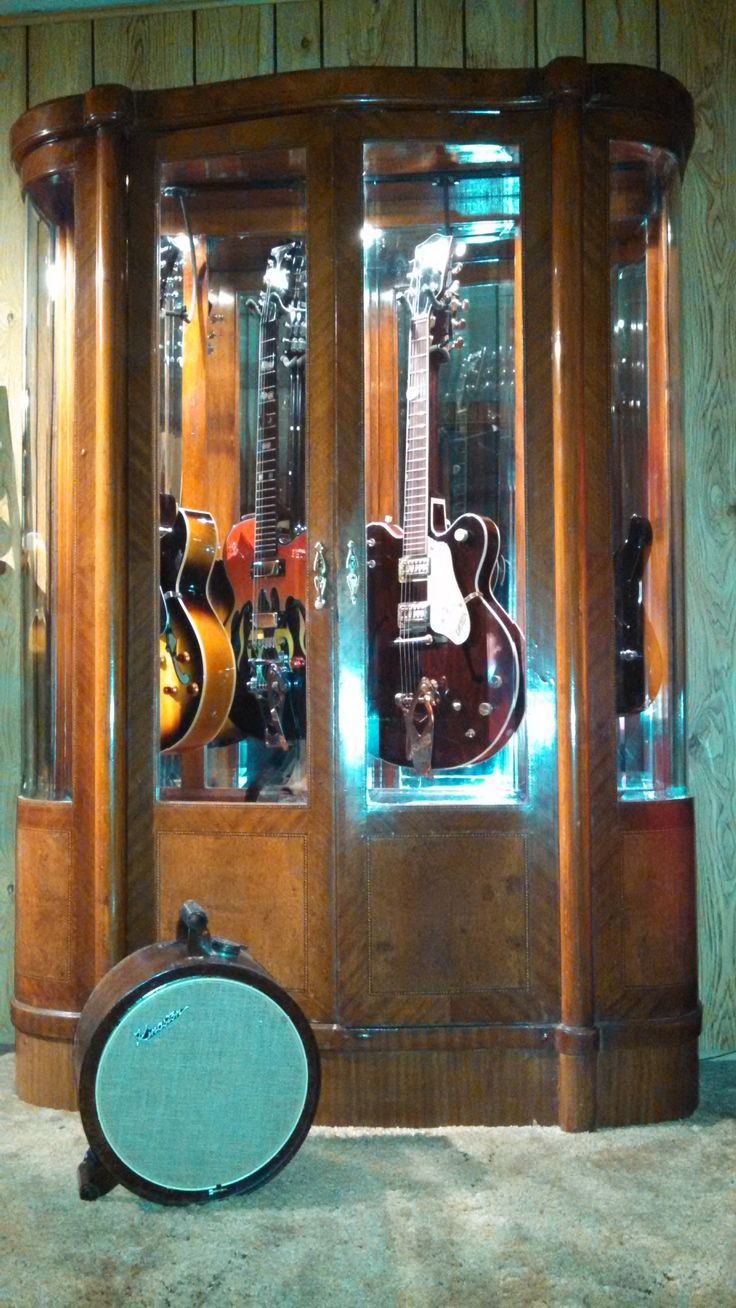 13 Best Guitar Display Cabinets Images On Pinterest