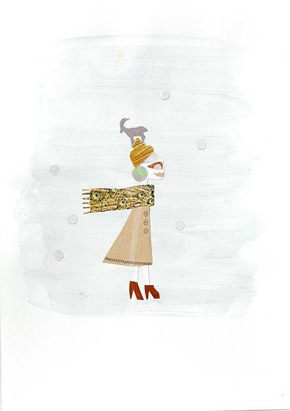 #elsyatwork #illustratie #libelle #horoscoop #steenbok