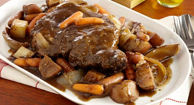 With minimal effort and McCormick Slow Cookers Savory Pot Roast Seasoning, you can have pot roast just like mom used to make.