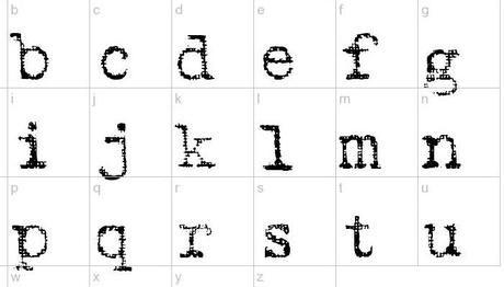 Font macchina da scrivere gratuiti