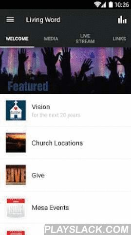 Living Word Bible Church LWBC  Android App - playslack.com ,  The Living Word Bible Church app features content from all of its locations in the Phoenix Metro Area.At the Living Word, we are called to build strong homes and families. This app gives you access to life-changing weekly messages, live streaming services and music from popular Christian artists. You can also stay informed about the events at each location and even register for conferences.For more information about Living Word…