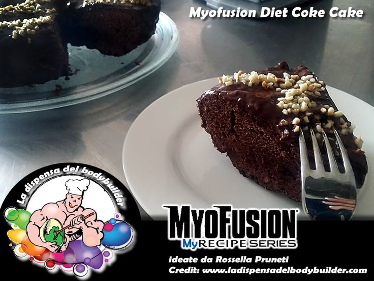 Myofusion Diet Coke Cake  (torta proteica con Coca Light o Zero)