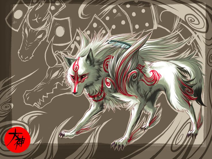 Amaterasu wallpaper