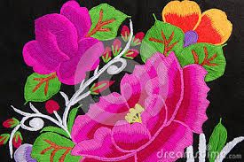 Image result for yucatecan floral embroidery design