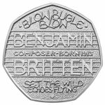 "One of the most regular questions we get at Change Checker is: ""I have a Benjamin Britten 50p – how much is it worth?"". There's no doubt that the Britten 50p was somewhat overlooked when it was first released and it is amongst the slightly more scarce coins in circulation #ChangeChecker #50p"
