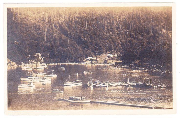 BC – WEST VANCOUVER, Whytecliff (Horseshoe Bay), Gowen c.1919-1920 RPPC