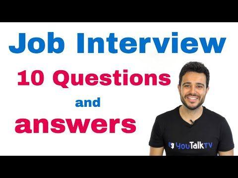 Inglés Americano - ENTREVISTA DE TRABAJO - Expresándose en Inglés 2 (Lección 80) - YouTube