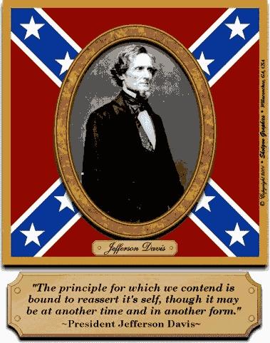 Confederate Jefferson Davis
