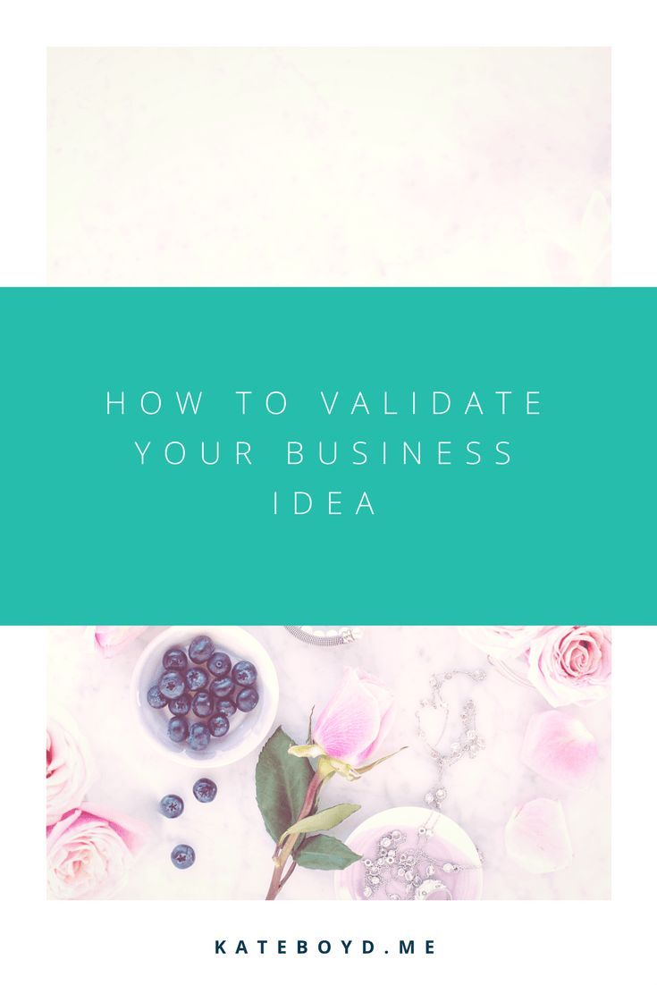 How to Validate Your Business Idea | Kate Boyd - Business Coach + Messaging Strategist