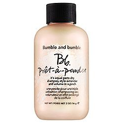 Obsessed with anything that functions as a dry shampoo with volume-boosting power. Bumble and bumble - Prêt–à–Powder   #sephora