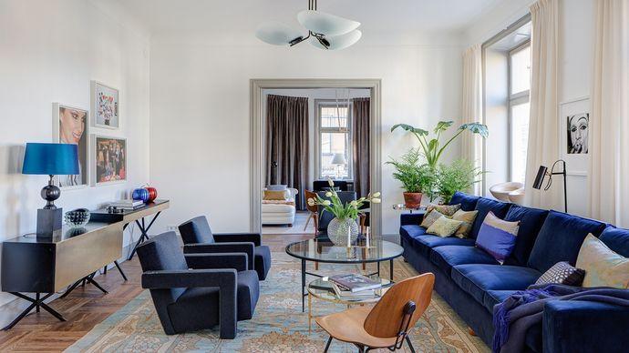 Lagerlings - Grevgatan 9 - Högklassig hörnvåning invid Strandvägen - Våra hem