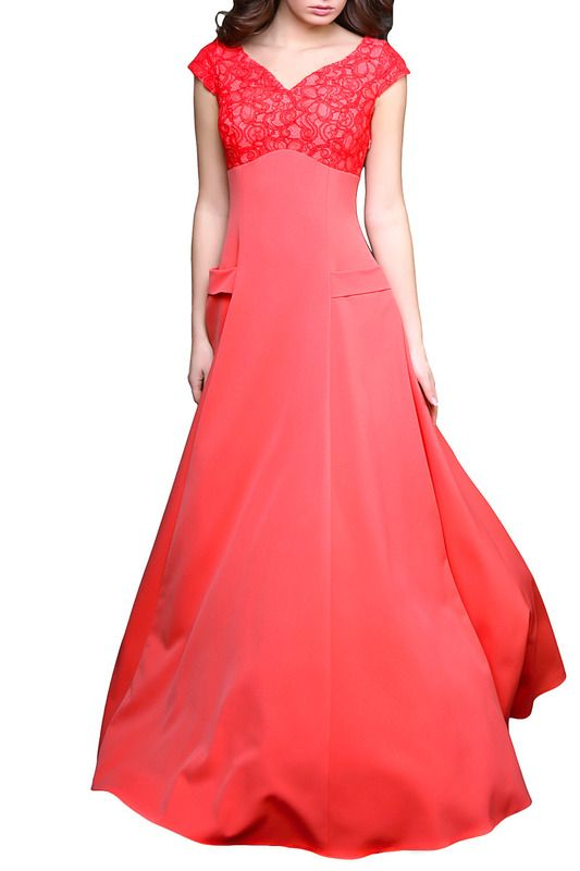 Платье Grey CatВосхитительное платье созданное из нежных тканей и красивых деталей. Верх платья до подреза под грудью отделан кружевным гипюром, придающим обольстительный и утонченный вид Вашему образу. Фигурный вырез горловины раскрывает Вашу изящность, а короткие рукава подчеркивают красоту рук и плеч. Талия незаметно переходит в длинную юбку с функциональными карманами украшенные планкой из однотонной ткани, в боковом шве потайная молния. Юбка за счет свойств ткани великолепно струится…
