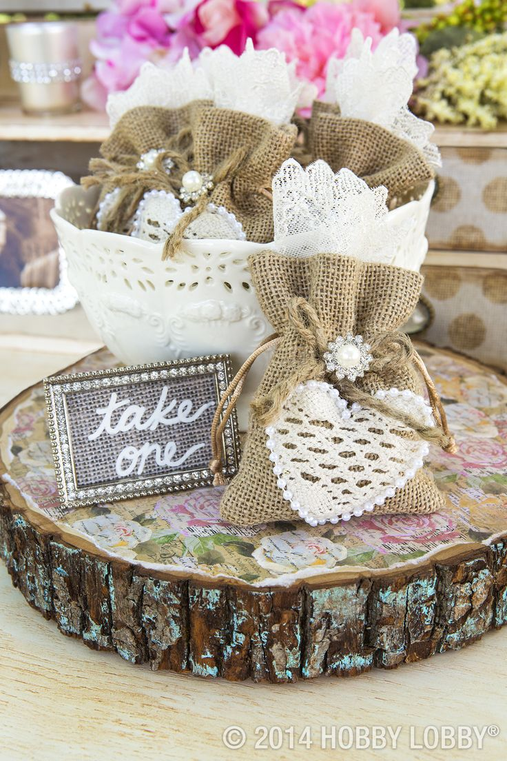 Hobby lobby craft bags - Give Your Guests A Pretty Send Off With Keepsake Worthy Favor Bags Made From