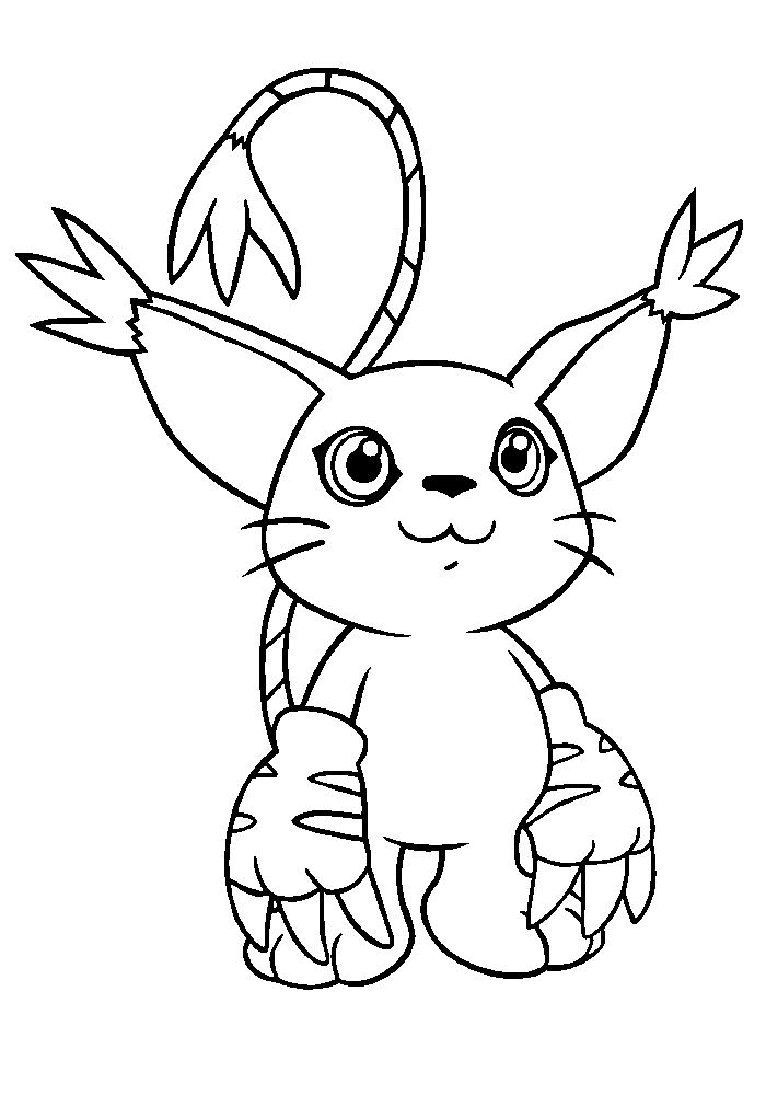 free digimon coloring page digimon coloring pages 42 printable coloring page