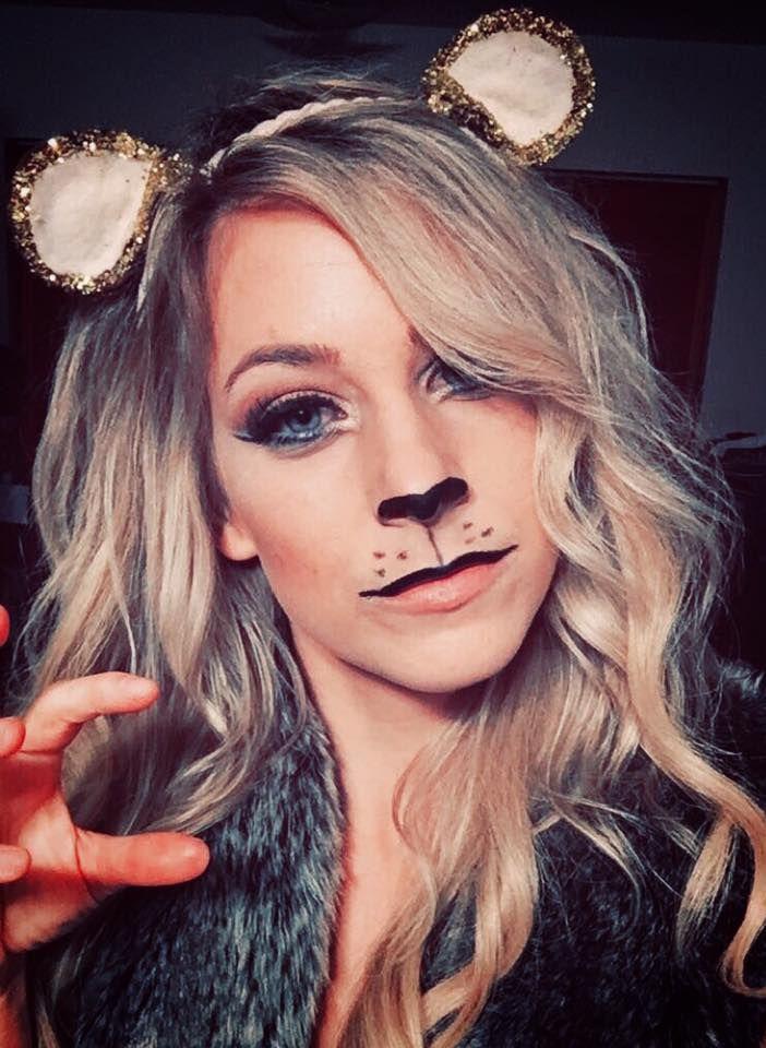 Lion Makeup and DIY Ears- Halloween Costume