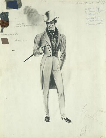 Beau Brummel - led transition from breeches to pantaloons/trousers in men's fashion (introduced pants to modern menswear)... Just dandy!