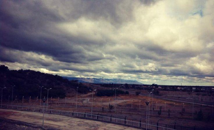 Día nublado, al otro lado de la cordillera, Catamarca, Argentina.