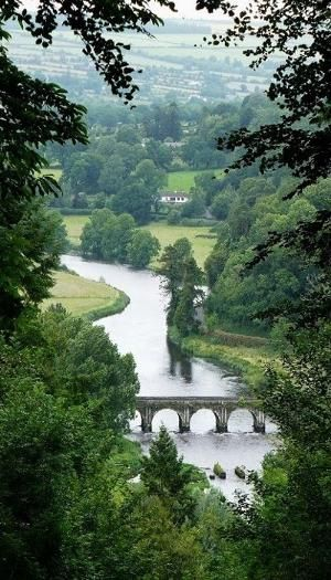 River Nore at Inistioge, Co Kilkenny, Ireland