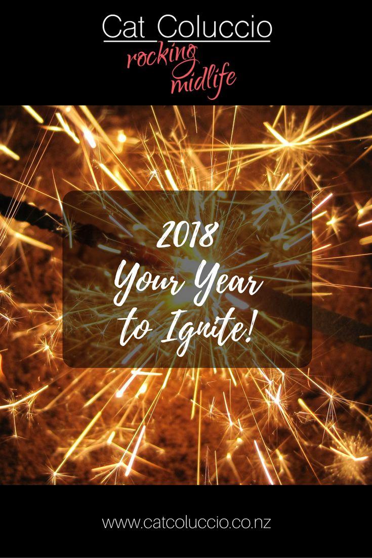 Cat Coluccio   2018 – Your Year to Ignite!