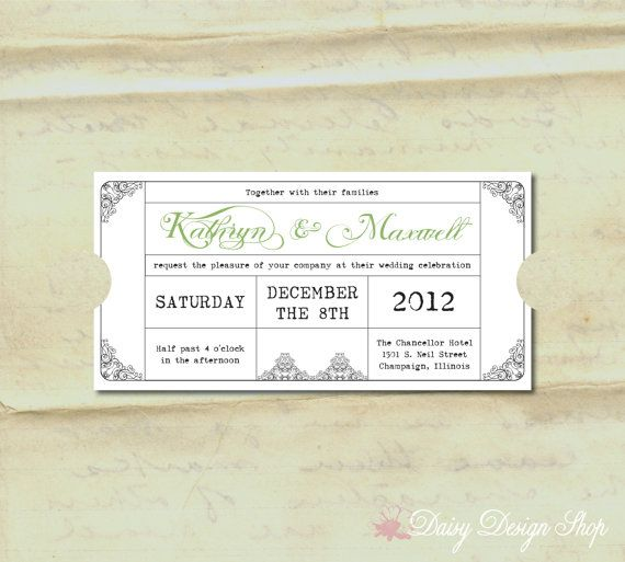 1000+ Ideas About Creative Wedding Invitations On