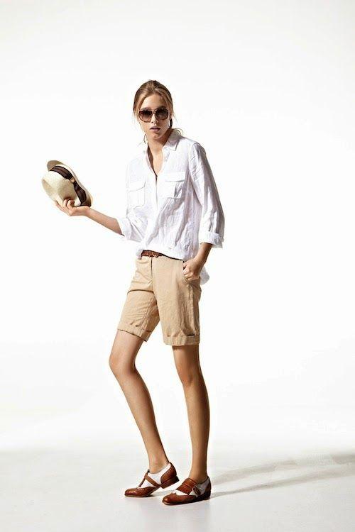 Las bermudas para mujeres marcan tendencia en esta primavera-verano 2014 ¿Ya tienes la tuya?   Hablamos de ello en Moda femenina: http://modafemeninada.blogspot.com/2014/04/bermudas-mujeres-primavera-verano-2014.html