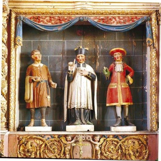 Retable de saint Yves, Irvillac (29)