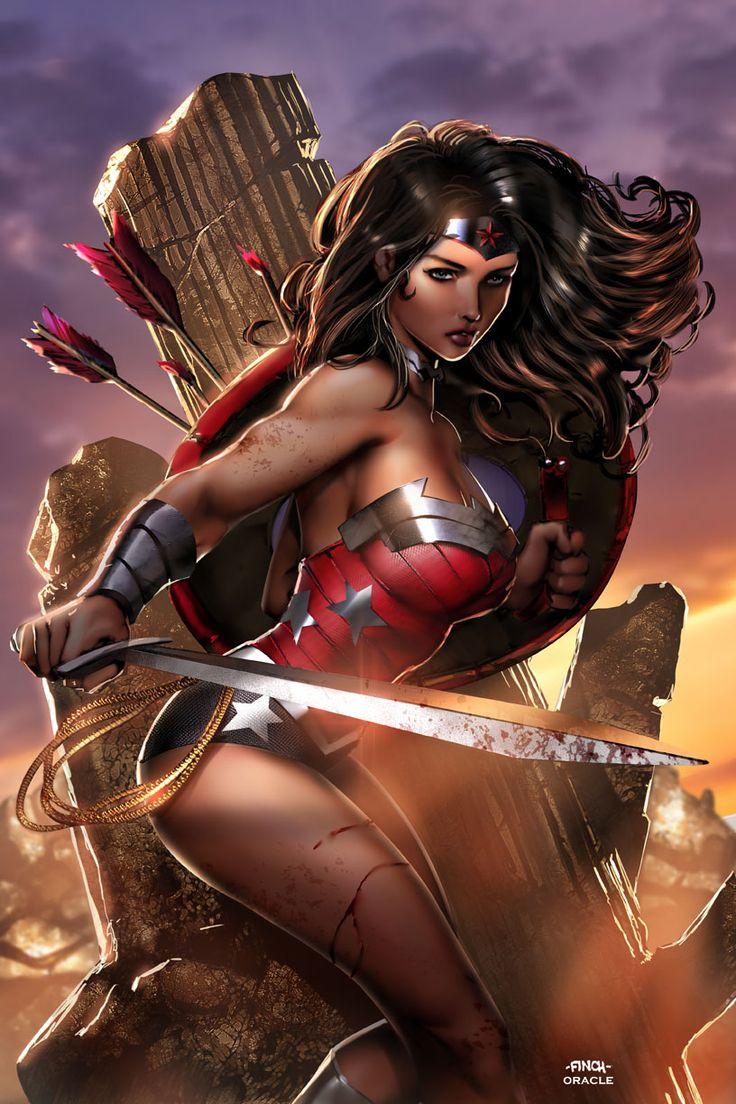 Wonder Woman Finch by Mystic-Oracle