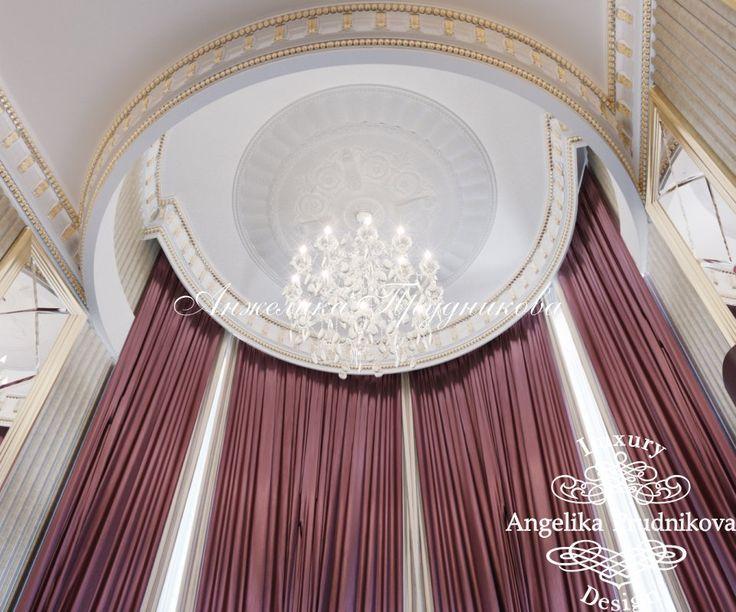 Дизайн дома в классическом стиле в Томске -  фото