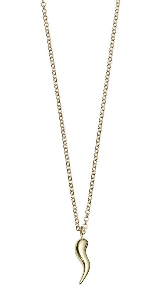 Italian Horn Necklace