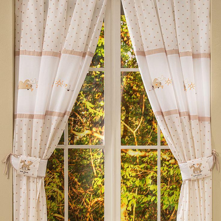 Bebek Odası Perdesi - Best Friends 140 X 260 cm boyutlarında. #bebekodası #perde #dekorasyon   #dekoratif #curtain #bebekodasıdekorasyon