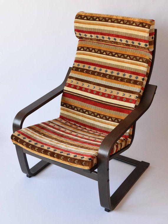 Poang Chair Cushion Fabric Cover Nf04 Ikea Poang Chair Armchair