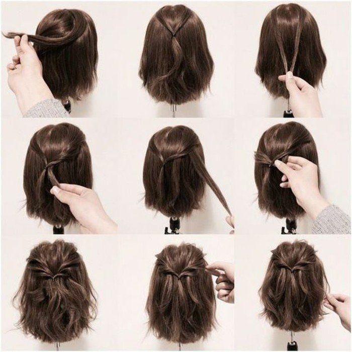 114 Wunderschone Bilder Einer Kurzen Frisur Frisuren Frauen Hochzeit Haare Medium Hair Styles Short Hair Pictures Short Hair Style Photos