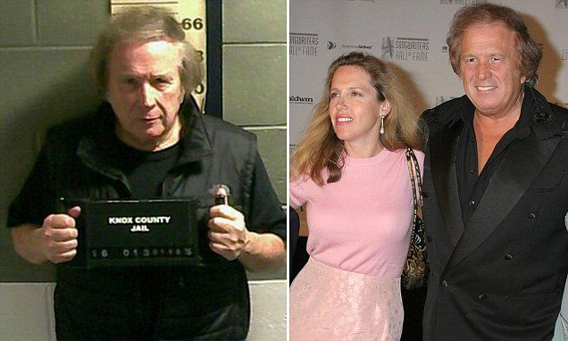 Ex-wife of 'American Pie' singer McLean gets protective order #DailyMail
