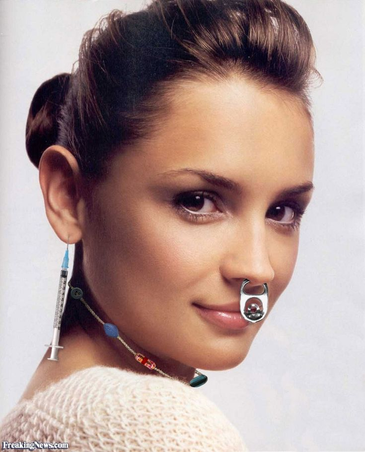 Women with huge septums | Septum piercing girl, Unique ... |Unique Body Piercings For Women