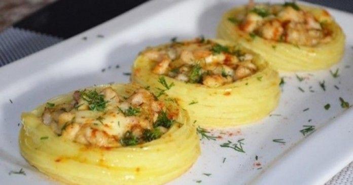 Впечатлете своите гости: Гнезда от картофи с пилешко месо