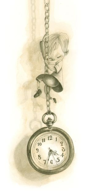 Clock Hourglass Time: Daniela Volpari.