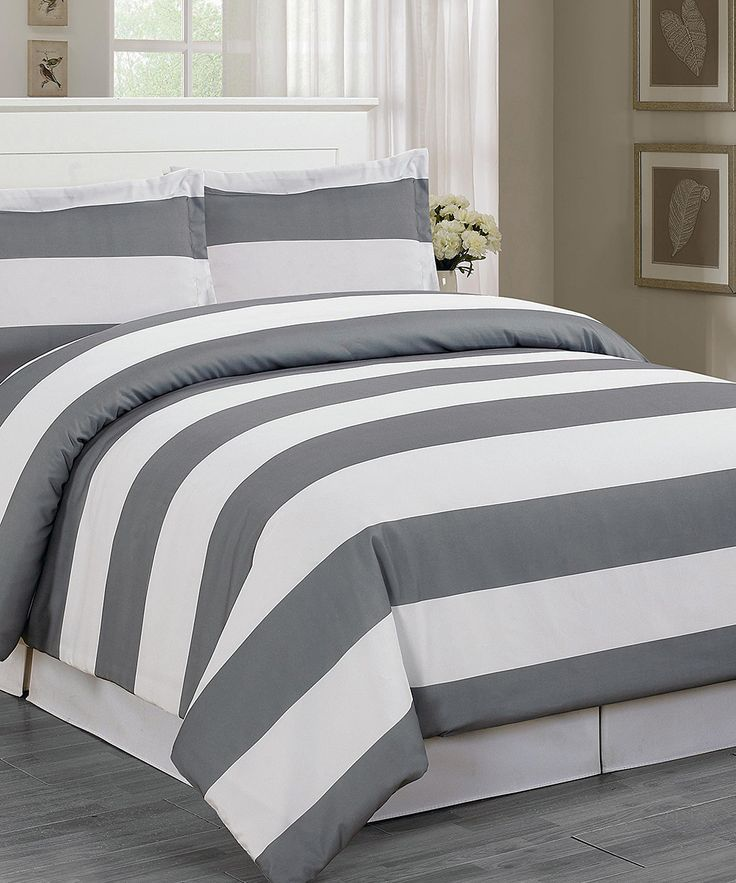 47 Best Images About Grey Duvet Cover King On Pinterest