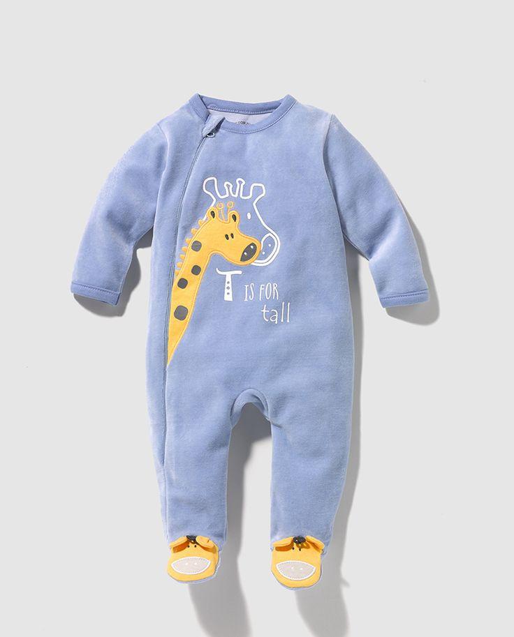 Pijama de bebe niño jirafa